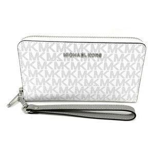 Michael Kors Jet Set Travel Large Wallet White